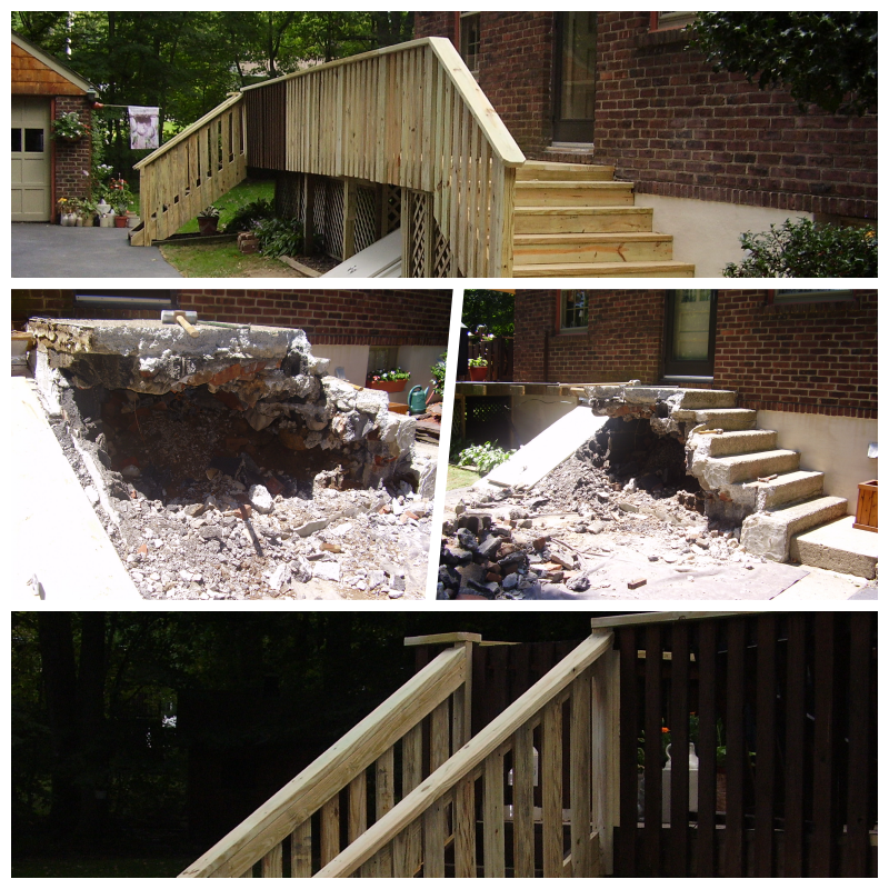 New Outdoor Stairs